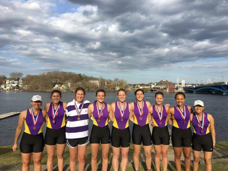 From Injured Soccer Recruit to College Rower: Diana