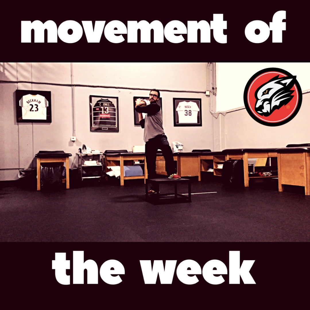 Movement of the Week: Med Ball Pitching Step Up