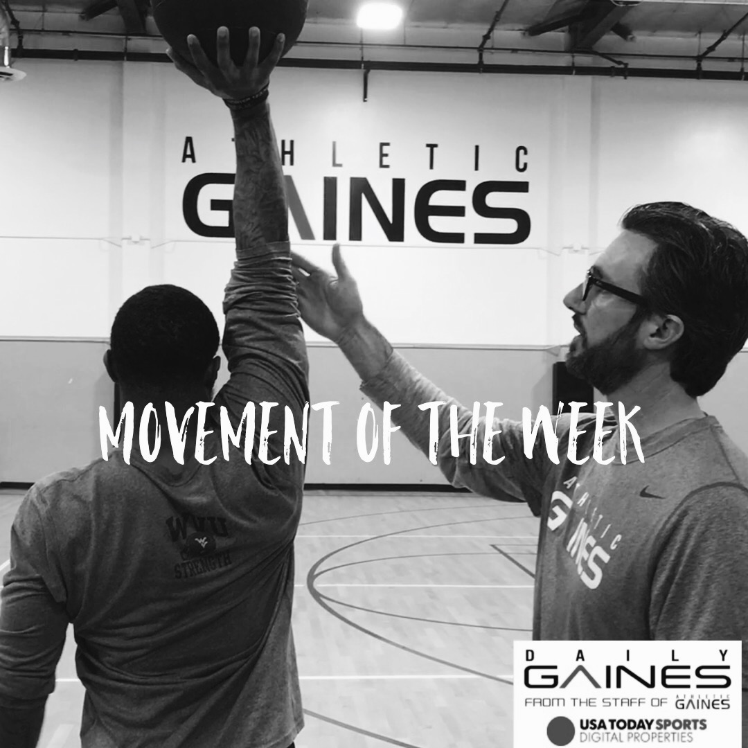 Movement of the Week: Tri-Planar Overhead Carry
