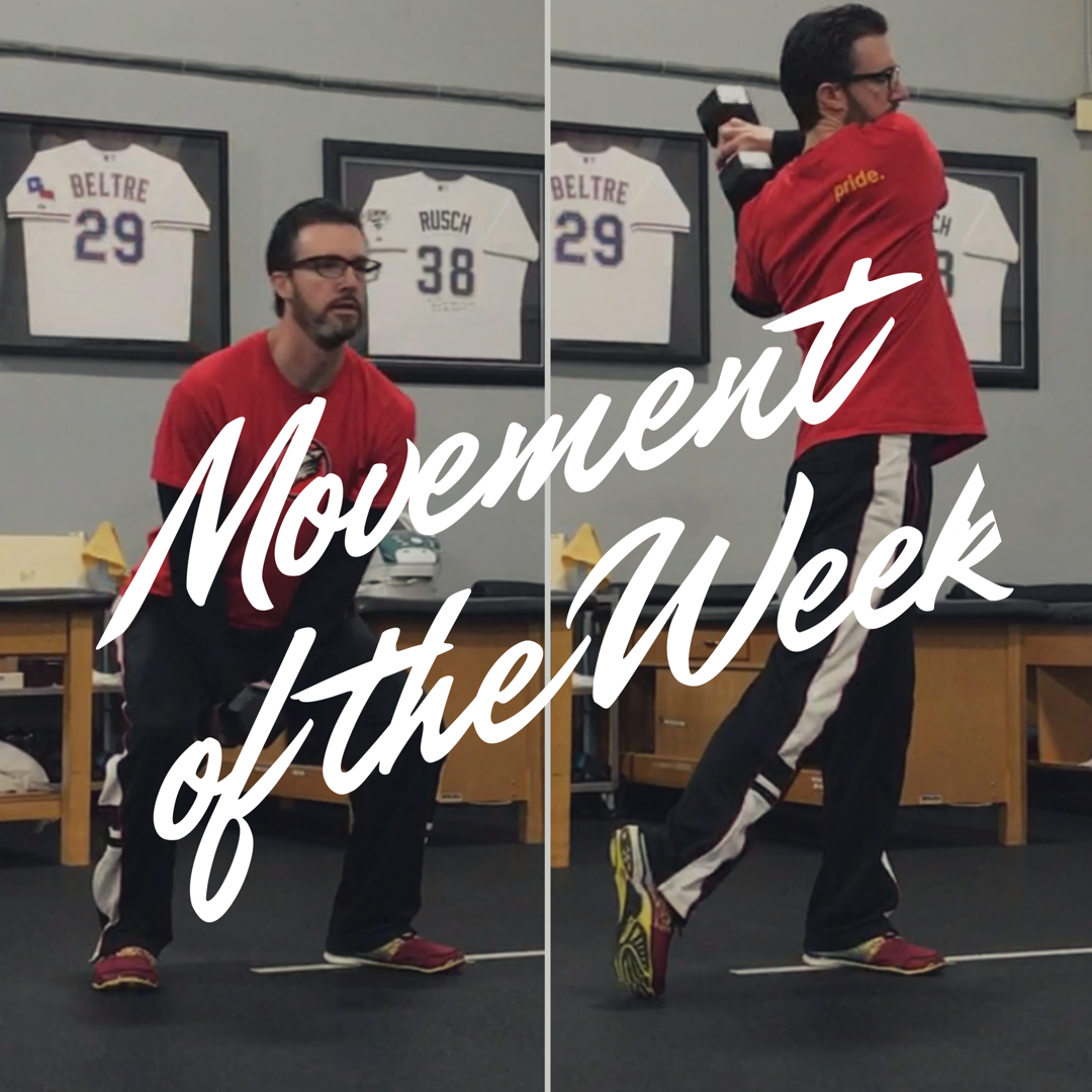 Movement of the Week: Dynamic DB Squat/Swing Variations
